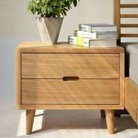 Meja kayu jati minimalis, nakas tempat tidur