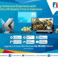 FIRST MEDIA Internet Wifi dan Tv kabel