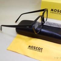 Frame MOSCOT PAT Hitam (Premium)