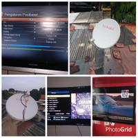 Parabola gratis Ninmedia tv Tanpa iuran bulan tanpa isi voucher
