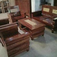 Full Ukir kursi meja ruang tamu kayu jati Jepara Free ongkir