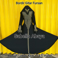 Harga Abaya Bordir Travelbon.com