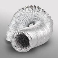 "Alumunium selang Exhaust 4"" Flexible duct hose ducting"