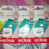 MMC MICRO SD CARD MEMORI SANDISK ULTRA 32GB MEMORI HP CLASS 10