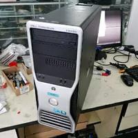 pc dell precision workstation t3500 2 8ghz vga quardro 2000 1gb 128bit