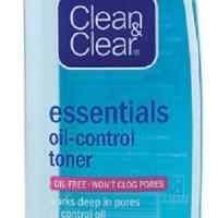 toner clean & clear essentials oil-control 100ml