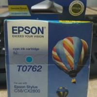 Tinta Epson T0763 Cyan