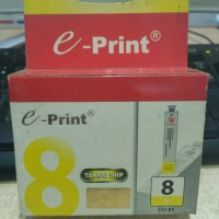Tinta Eprint Canon CLI 8 - Yellow