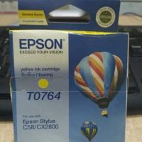 Tinta Epson T0763 Yellow