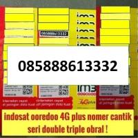 obral ! nomer cantik triple indosat ooredoo 4G plus im3 bkn mentari