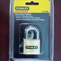 gembok Kuningan 35mm/ solid brass padlock stanle BERKUALITAS B20 JA070