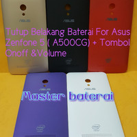 Back Cover Asus ZenFone 5 / A500CG Backdoor Casing Tutup Baterai HP