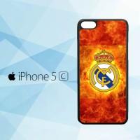 Casing iPhone 5c Real Madrid 2016 X4259