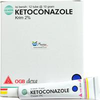 Ketoconazole Cream - Gatal, Panu, Kudis, Kurap, Kutu Air, Eksim, Kadas