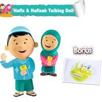 Jual Boneka Edukasi - Hafiz & Hafizah Talking Doll Murah