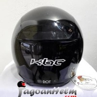 Jual KBC Helm VR Solid  | Black Metalic | Fullface DDring Visor Flat