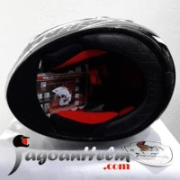 Jual NHK Helm GP1000 STAR | GP-1000 White -Silver | GP 1000 Double