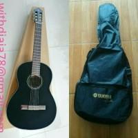 Yamaha Gitar Klasik Original Yamaha C40 Black / C-40 BL Plus Softcase