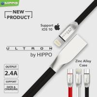 harga Hippo Ultron Kabel Data Charger Lightning Iphone 5 5s 6 6s 200cm Tokopedia.com