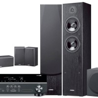 Yamaha 5.1ch Paket Home Theatre HTR 2067 +NS F51+YST SW216