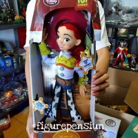 Talking jessie Toy Story Disney Store SUPER