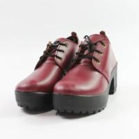 Jual Lilyshoes -sepatu heeled Boots dockmart simple casual wanita