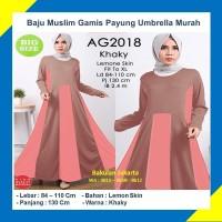 Baju Muslim Gamis Syari Payung Umbrella Khaky Murah