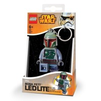 (Dijamin) Lego Key Chain LED Lite 5004752 Boba Fett Keychain Light