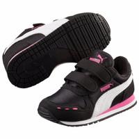 Jual Sepatu Kets Anak hitam sekolah kids kid black Puma Shoes Original Murah 3d8b456fc7