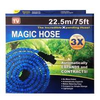 Selang air magic hose 22,5 meter pakai baut hijau/biru