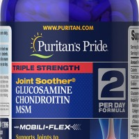 Triple Strength Glucosamine, Chondroitin & Msm Joint Soother 180 Caps