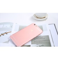 Casing iPhone 6s Plus Remax Empty TPU Case 0.5mm Rose Gold