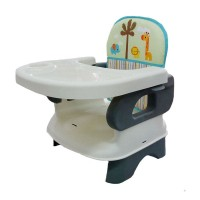 Pliko Folding Booster Seat / Kursi makan bayi (warna Brown, Grey)