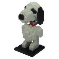 LDL 114 Lego Action Figure Nano Blocks World Series Snoopy MURAH