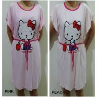 DSHK51 - Dress Batwing Hello Kitty Apple MURAH