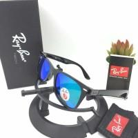 New kacamata rayban wayfarer liteforce black blue Model Murah