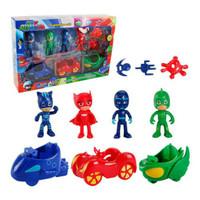 Figure Pj Masks 1 set isi 11 pcs / Figurine Pj Mask 1 set isi 11 pcs