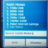 Kartu Sak ti As Madura Paket Internet Super Murah