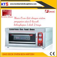 Mesin Oven Roti/Gas Deck Oven Fomac 1 Pintu 2 Loyang