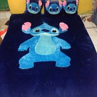 karpet karakter set standar motif stitch