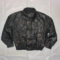 jaket kulit polo