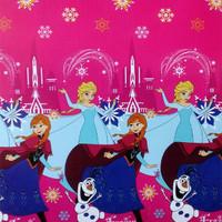 Selimut Bulu Karakter 160x200 Lady Rose Motif 2 Heart/Bedcover/Sprei