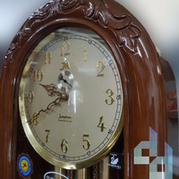 Luxury Junghans Grandfather Clock (Lemari Jam Berdiri) Mesin German