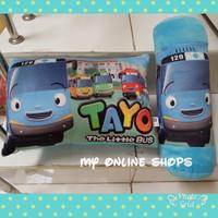 Paket Bantal Guling Tayo little Bus