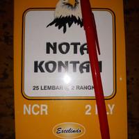 Buku Nota Kontan Kecil 2 Ply NCR / nota kontan 2 rangkap kecil