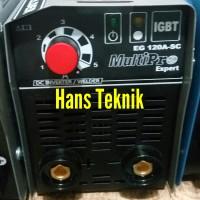 Mesin Las PLN & Genset MultiPro EG 120 Ampere SC 450 Watt Kecil Promo