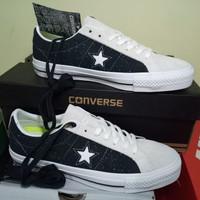 ORIGINAL 100% Sepatu Converse One Star Pro Ox Leather 155526C