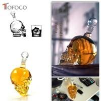 Whisky Glass 3D Crystal Skull Head Whiskey Vodka Bottle Wine Decanter