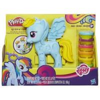 Play doh Rainbow Dash My little pony Style Salon Playset