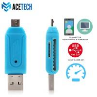Acetech OTG Card Reader - Micro SD - SD Card Reader - OTG Combo